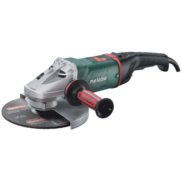 AMOLADORA ANGULAR METABO WE24-230 2400W MVT DESBARBADORA