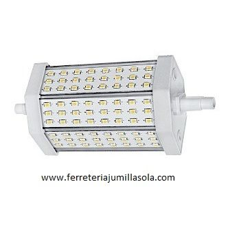 BOMBILLA LINEAL R7s 78mm 220V LED 4W LUZ FRIA