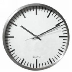 RELOJ METALICO PARED COCINA 35cm SIN NÚMEROS RT-3015