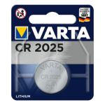 PILA CR2025 LITIO 3V VARTA